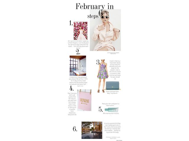 February in 6 steps