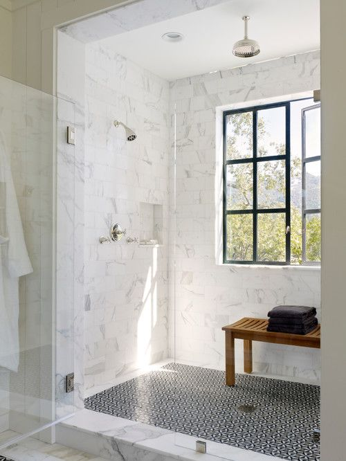 shower + window