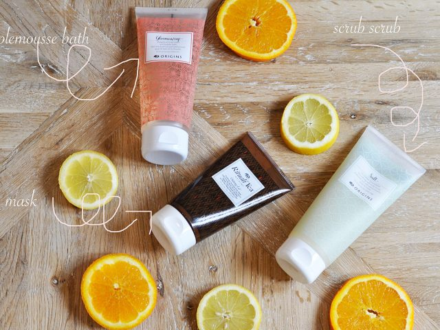 Origins beauty routine
